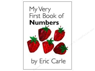 Books & Patterns ABC & 123: Penguin Eric Carle My Very First Book Of Numbrs Book