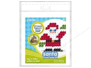 Perler Fused Bead Trial Kit Santa