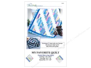 Fat Quarter / Jelly Roll / Charm / Cake Patterns: Pleasant Valley Creations My Favorite Quilt Pattern