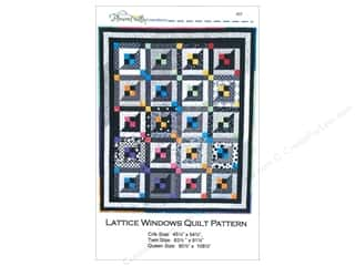 Lattice Windows Quilt Pattern