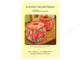 Aunties Two Quilt Patterns: Aunties Two OMG (Oh My Gourd) Pattern