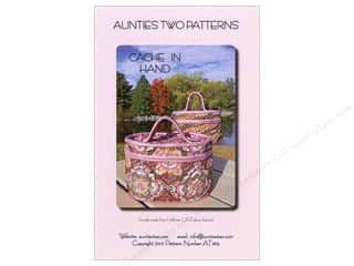 Aunties Two Home Decor: Aunties Two Cache In Hand Pattern