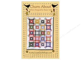 New Templates: Rusty Crow Quilt Shop Churn About Pattern