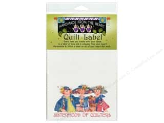 "Labels: Jody Houghton Quilt Label 6""x 6"" Sisterhood Of Quilters"