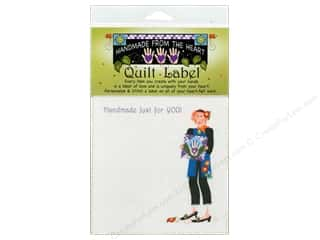 "Sewing & Quilting $6 - $10: Jody Houghton Quilt Label 6""x 6"" Quilting Charity"
