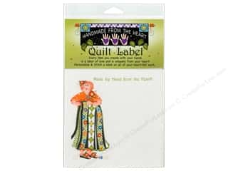 "Labels: Jody Houghton Quilt Label 6""x 6"" Quilting Faith"