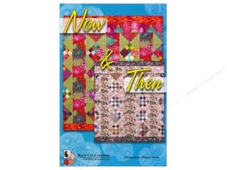 Bear Paw Productions Fat Quarter / Jelly Roll / Charm / Cake Books: Black Cat Creations Now & Then Pattern