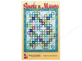 Bits 'n Pieces Quilting Patterns: Black Cat Creations Smoke 'n Mirrors Pattern
