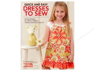 Leisure Arts Clearance Patterns: Leisure Arts Quick and Easy Dresses to Sew Book