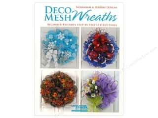 Leisure Arts Deco Mesh Wreaths Book