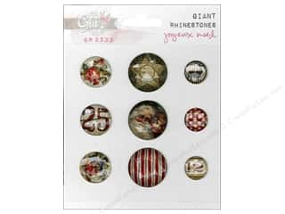 Glitz Joyeux Noel Giant Rhinestones