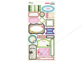 Crate Paper: Crate Paper Stickers On Trend Phrase