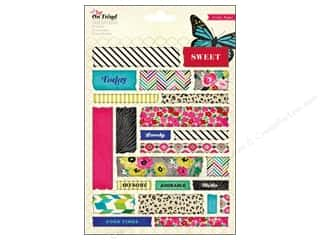 Crate Paper Crate Paper Stickers: Crate Paper Stickers On Trend Tape
