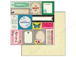 Crate Paper  12 x 12 in. On Trend Accent Cuts (25 piece)