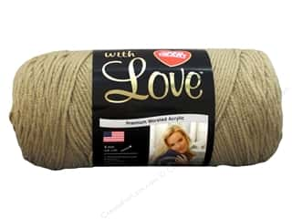 Red Heart With Love Yarn Tan 7oz.