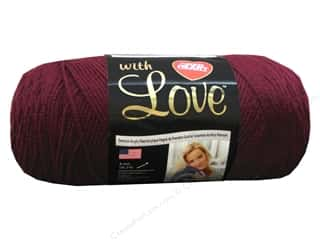 Red Heart With Love Yarn Merlot 7oz.