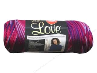 Red Heart With Love Yarn Plum Jam 5oz.