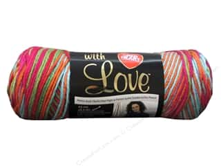 Purse Making Yarn & Needlework: Red Heart With Love Yarn #1944 Fruit Punch 5oz.