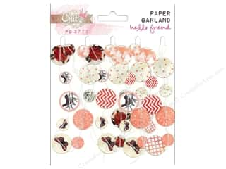 Glitz Design Glitz Design Embellishment: Glitz Design Embellishment Paper Garland Hello Friend