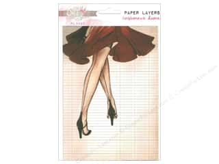 Scrapbooking & Paper Crafts Designer Papers & Cardstock: Glitz Design Paper Layers Cashmere Dame