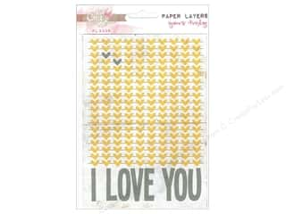Scrapbooking & Paper Crafts Designer Papers & Cardstock: Glitz Design Paper Layers Yours Truly