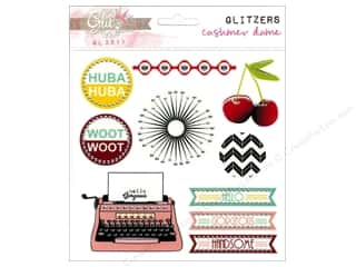 Glitz Design Dimensional Stickers: Glitz Design Glitzers Cashmere Dame