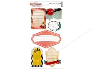 Scrapbooking & Paper Crafts Designer Papers & Cardstock: Glitz Design Sticker Cardstock Cashmere Dame Journ