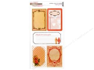 Scrapbooking Designer Papers & Cardstock: Glitz Design Sticker Cardstock Hello Friend Journ