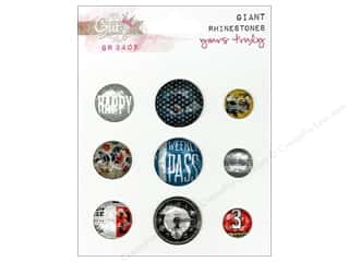 Glitz Yours Truly Giant Rhinestones