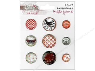 Glitz Hello Friend Giant Rhinestones