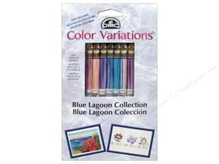 Tenderberry Stitches: DMC Color Variations Floss Packn 8 pc. Blue Lagoon Collectio