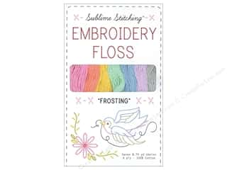Sublime Stitching Floss Pack Six Ply Frosting 7pc