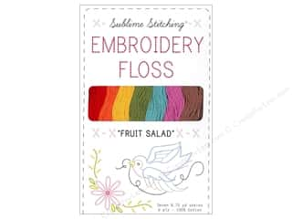 Sublime Stitching Floss Pack Six Ply FruitSalad7pc
