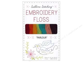Sublime Stitching Floss Pack Six Ply Parlour 7pc