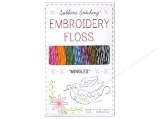 Sublime Stitching Floss Pack Six Ply Mingles 7pc