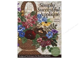 C&T Publishing Simply Successful Applique Book by Jeanne Sullivan