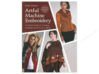CD Rom Length: C&T Publishing Artful Machine Embroidery Book by Bobbi Bullard