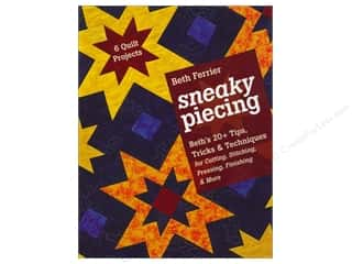 C&T Publishing Sneaky Piecing Book by Beth Ferrier