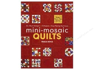 Bendon Publishing $3 - $4: C&T Publishing Mini-Mosaic Quilts Book by Paula Doyle