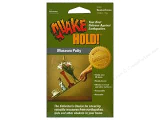 Adhesive Tabs Craft Glues, Adhesives & Tapes: Quake Hold Ready America Museum Putty 2.64oz Neutral/Creme
