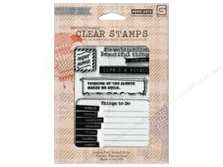 Clearance Plaid Stamps Clear: BasicGrey Clear Stamps 7 pc. Be Silly