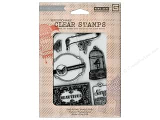 BasicGrey Clear Stamps 8 pc. Beautiful