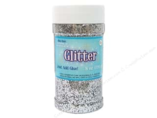 Papers Basic Components: Sulyn Glitter 8oz Jar Silver