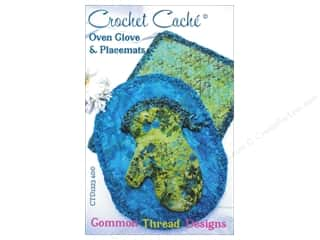 Common Thread Designs Table Runner & Kitchen Linens Patterns: Common Thread Designs Crochet Cache Oven Glove & Placemats