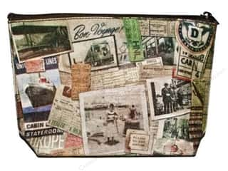 Fabric Bags / Purses: Tim Holtz District Market Clutch Destinations