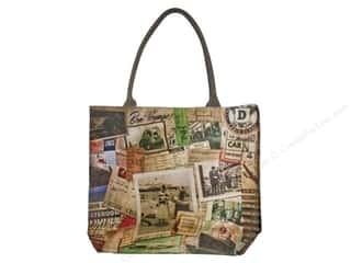 Purses Blue: Tim Holtz District Market Tote Destinations