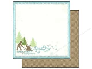Carta Bella 12 x 12 in. Paper Little Sledders (25 piece)
