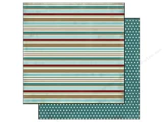 Carta Bella Paper 12x12 Winter Fun Winter Stripe (25 piece)