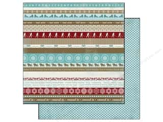 Carta Bella Winter: Carta Bella 12 x 12 in. Paper Winter Fun Winter Borders (25 pieces)