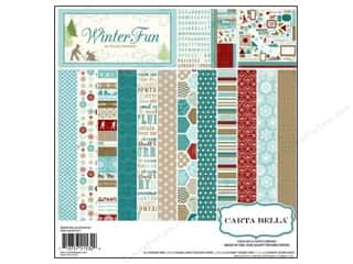 Carta Bella Collection Kit 12 x 12 in. Winter Fun